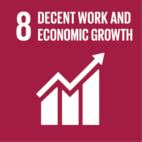 Theme 3: How SDGs help creating decent jobs Icon