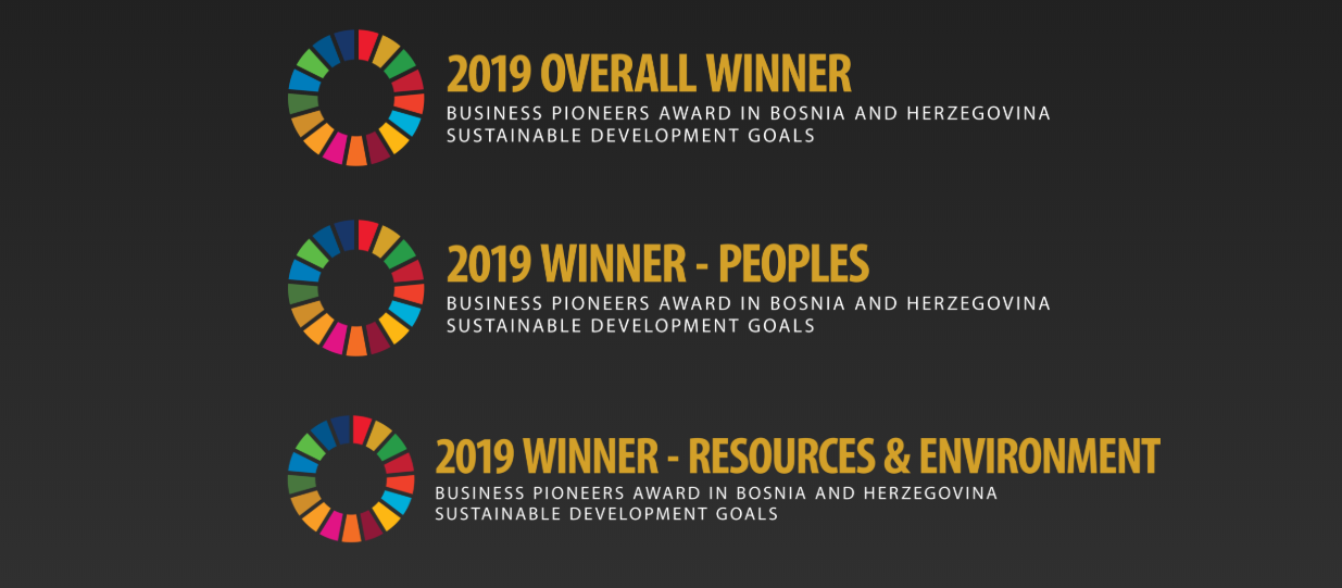 Call for the private sector companies to apply for the SDG Business Pioneers award in BiH for 2019