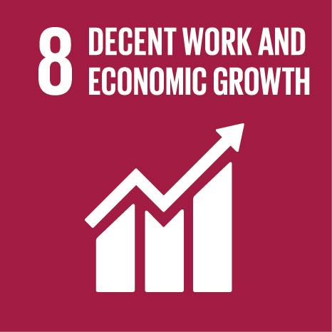 Theme 3: How SDGs help creating decent jobs Icon