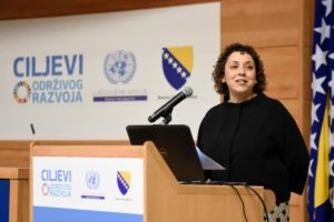 Speech of UN Resident Coordinator at SDG Conference in Sarajevo Logo