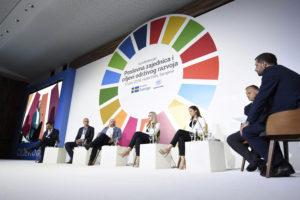 Preduzeća igraju izuzetno važnu ulogu u ostvarivanju ciljeva održivog razvoja Logo