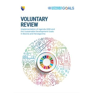 BiH VNR presented at HLPF 2019 in New York Logo