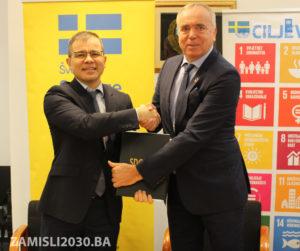 SDG Accelerator for SMEs in BiH kicks off Logo