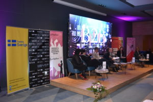 More than 200 female entrepreneurs from BiH and the region exchanged experiences at B2B meetings Logo