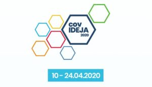 covIDEJA 2020 – Have an idea? Share it with the world Logo