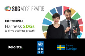 Harness SDGs for business growth Logo
