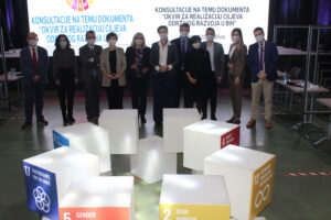 """Consultations on """"Framework for Realization of Sustainable Development Goals in BiH"""" held Logo"""