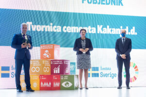 SDG Business Pioneers in BiH for 2020 awarded Logo