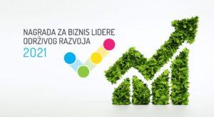 Otvorene su prijave za Nagradu za biznis lidere održivog razvoja u Bosni i Hercegovini za 2021. godinu! Logo