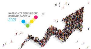Uprkos pandemiji: U 2021. godini povećan interes za Nagradu za biznis lidere održivog razvoja! Logo