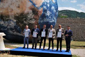Pet jedinica lokalne uprave dobilo SDG nagrade za 2021. godinu Logo